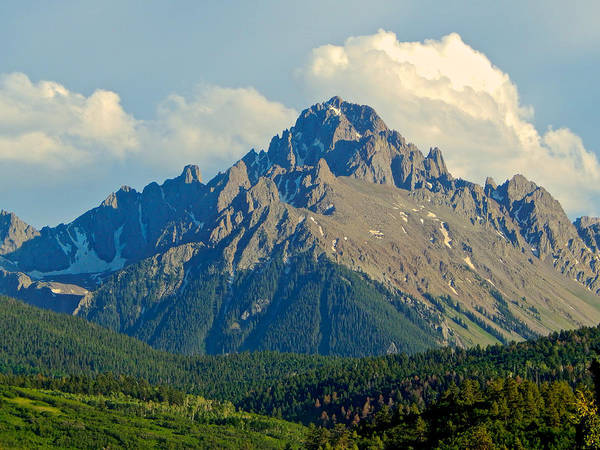 Photograph - Mount Sneffels by Dan Miller