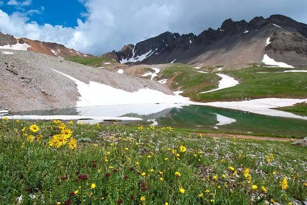 Photograph - Mount Sneffels Landscape by Cascade Colors