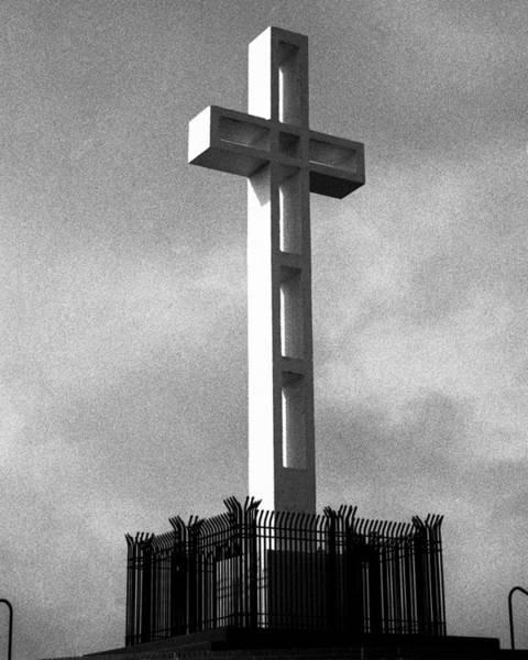 Mount Soledad Wall Art - Photograph - Mount Soledad Cross 2 by Alex Snay