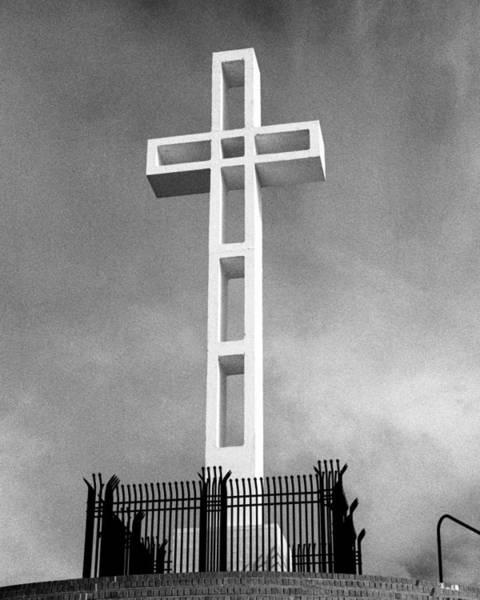 Mount Soledad Wall Art - Photograph - Mount Soledad Cross by Alex Snay
