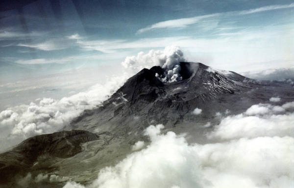 31st Photograph - Mount St Helens by Us Geological Survey/science Photo Library