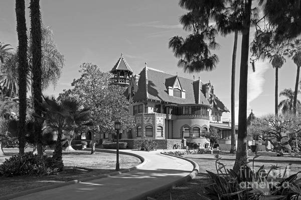 Queen Anne Style Photograph - Mount St. Mary's University Doheny Mansion by University Icons