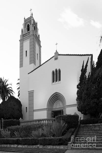 California Mission Photograph - Mount St. Mary's University Mary Chapel by University Icons