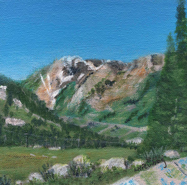 Painting - Mount Superior by Linda Feinberg