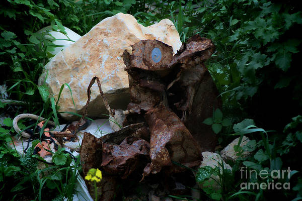 Painting - Mount Trashmore - Series Xvi by Doc Braham