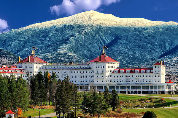 New England Photograph - Mount Washington Hotel by Tom Prendergast