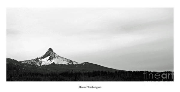 Central Oregon Photograph - Mount Washington by Twenty Two North Photography