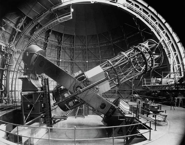 Mt. Wilson Photograph - Mount Wilson Hooker Telescope by Royal Astronomical Society/science Photo Library