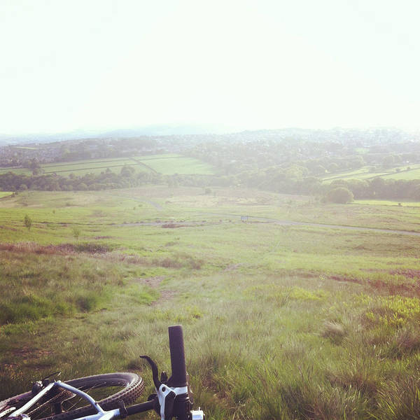 Bicycle Photograph - Mountain Bike Ride Nature View by Jill Tindall