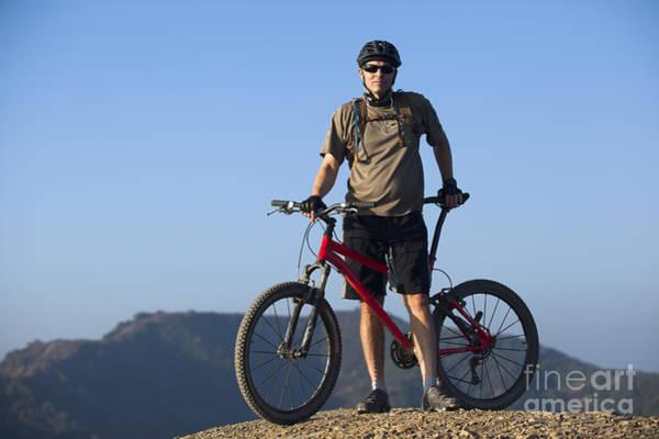 Wall Art - Photograph - Mountain Biker by Mike Raabe