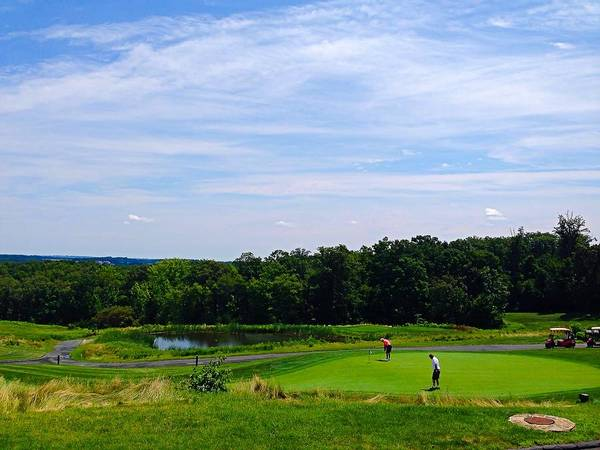 Photograph - Mountain Branch Golf by Chris Montcalmo