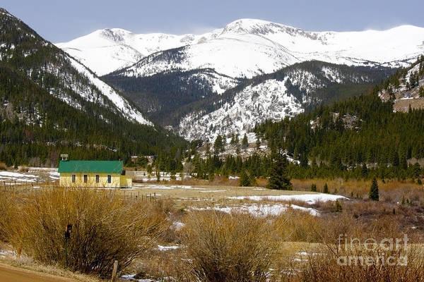 Photograph - Mountain Church by Steve Krull