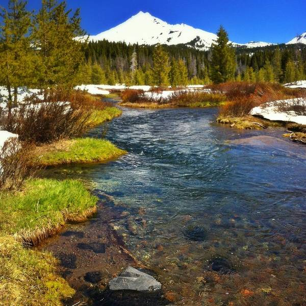 Deschutes River Photograph - Mountain Creek by Andipantz