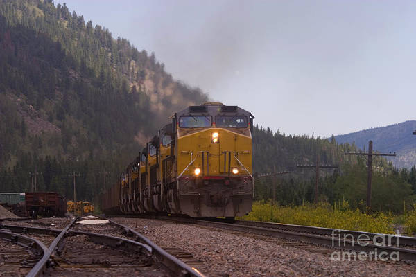 Photograph - Mountain Engines by Steve Krull
