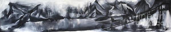 Wall Art - Painting - Mountain Escape by Jen Callison