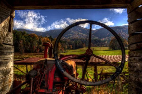 Farmall Photograph - Mountain Farm View by Greg and Chrystal Mimbs