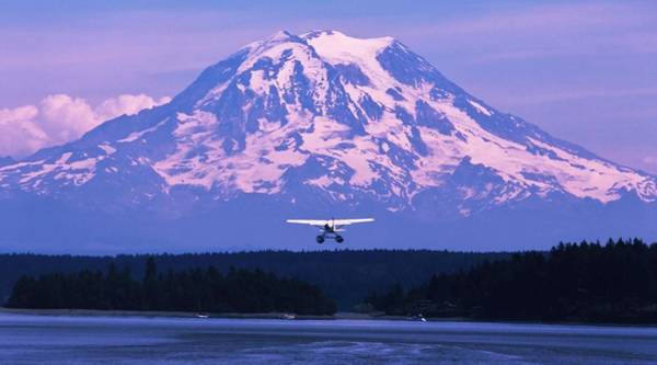 Seaplanes Photograph - Mountain Flight by Benjamin Yeager