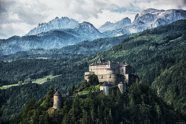 Photograph - Mountain Fortress by Ryan Wyckoff