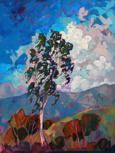 Wall Art - Painting - Mountain Gallery by Erin Hanson