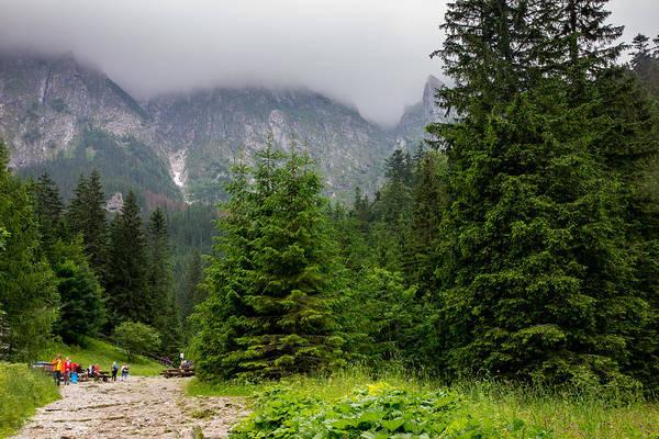 High Tatras Wall Art - Photograph - Mountain Hiking by Pati Photography
