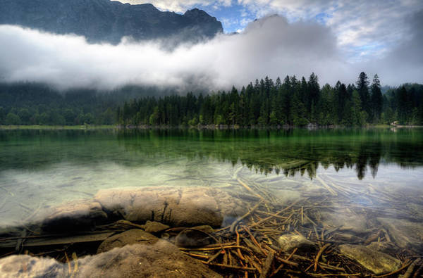 Clear Water Photograph - Mountain Lake by