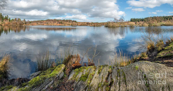 Coed Photograph - Mountain Lake by Adrian Evans