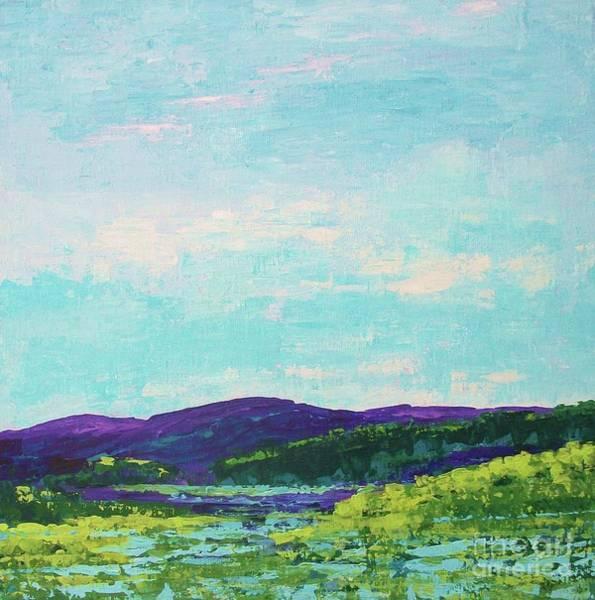 Painting - Mountain Lake by Gail Kent