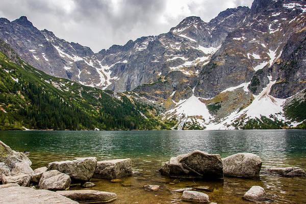 High Tatras Wall Art - Photograph - Mountain Lake by Pati Photography
