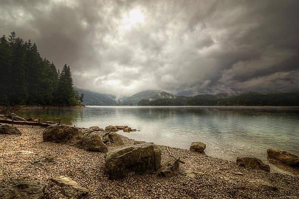 Photograph - Mountain Lake by Ryan Wyckoff