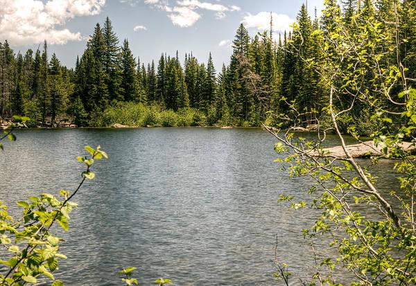 Photograph - Mountain Lake by Steve Thompson