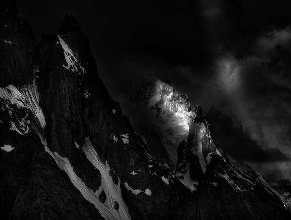 Wall Art - Photograph - Mountain Lights by Fei Shi