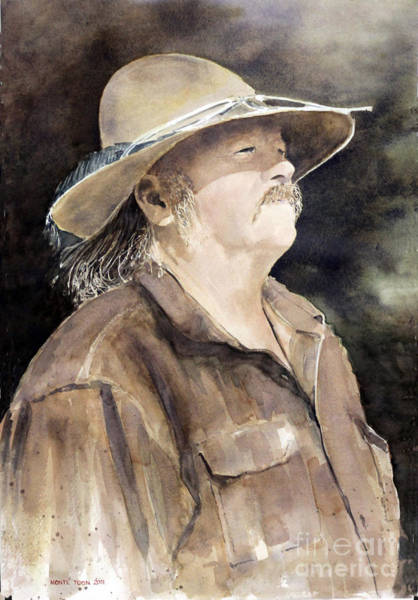 Painting - Mountain Man by Monte Toon