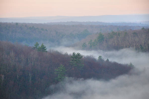 Pocono Mountains Wall Art - Photograph - Mountain Morning by Bill Cannon