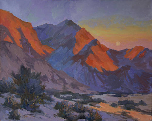 La Quinta Wall Art - Painting - Mountain Morning by Diane McClary