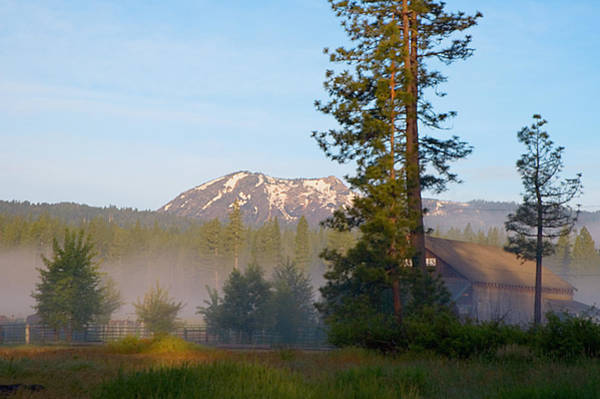 Plumas County Photograph - Mountain Morning by Mick Burkey