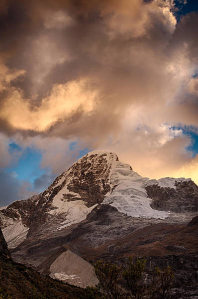 Photograph - Mountain Of The Santa Cruz Trek by U Schade
