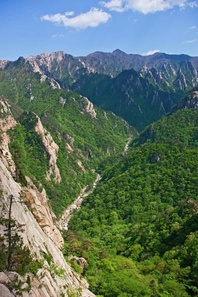 Wall Art - Photograph - Mountain Panorama At Seoraksan by Henn Photography