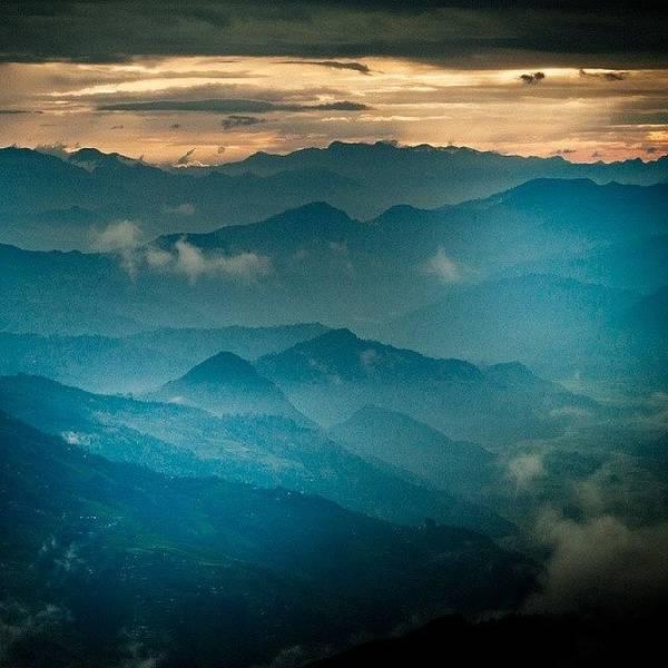 Beautiful Sunrise Wall Art - Photograph - Mountain Panoramic by Raimond Klavins