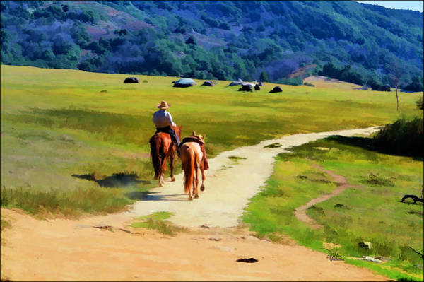 Ranch Digital Art - Where In This World Can Man Find by  Douglas MooreZart