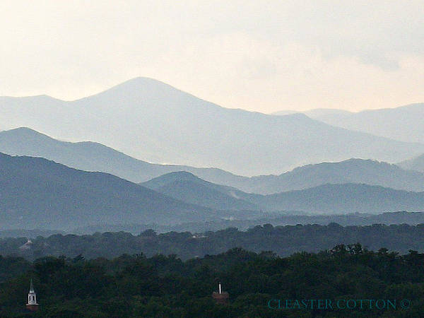 Photograph - Mountain Range 1 by Cleaster Cotton