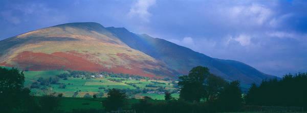 Mountain Range, Grasmere, Lake Art Print
