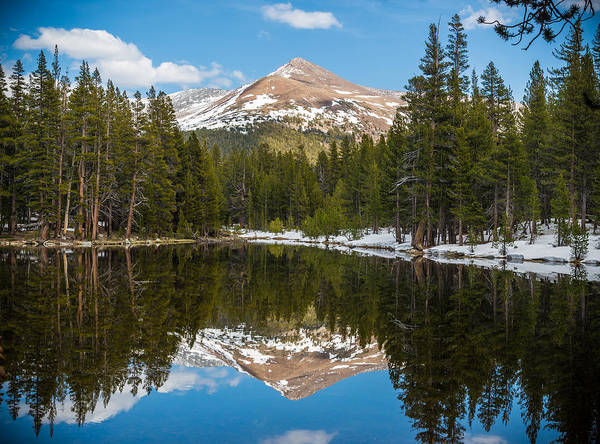 Photograph - Mountain Reflecting by Kristopher Schoenleber