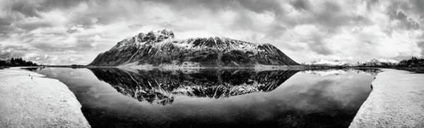 Wall Art - Photograph - Mountain Reflection by Dave Bowman