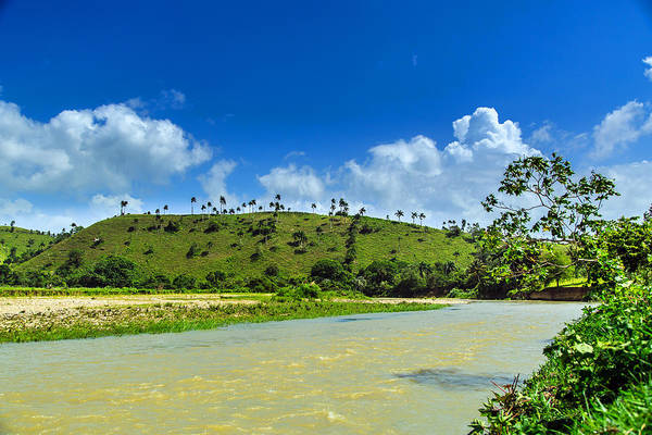 Puerto Plata Photograph - Mountain River In Dominican Republic by Dmitry Sergeev