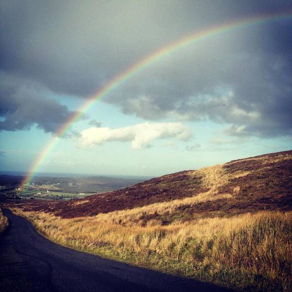 Montain Photograph - Mountain Road. by Keith Harkin