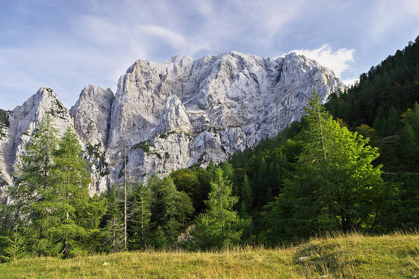 Photograph - Mountain Scene by Ivan Slosar