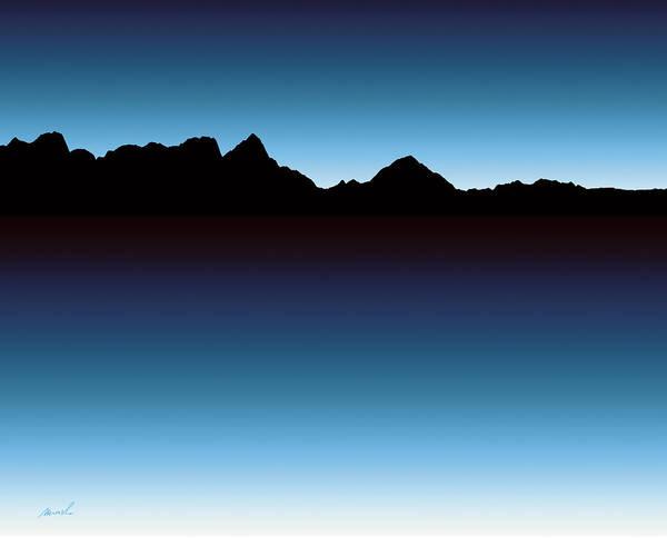 Wall Art - Photograph - Mountain Skyline 1 by The Art of Marsha Charlebois