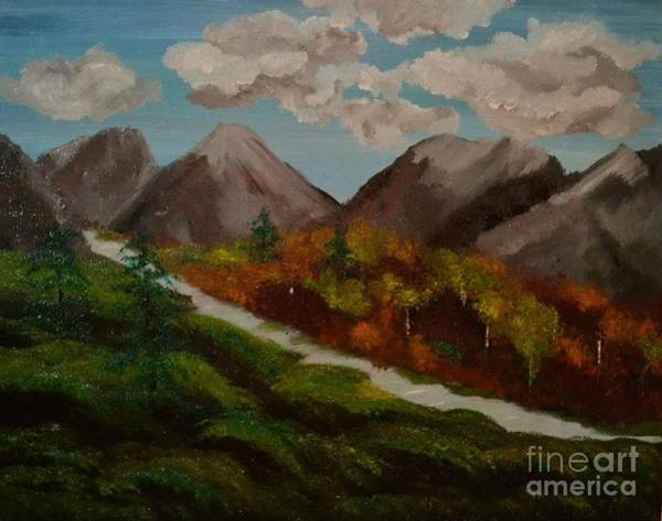 Painting - Mountain Stream by Denise Tomasura