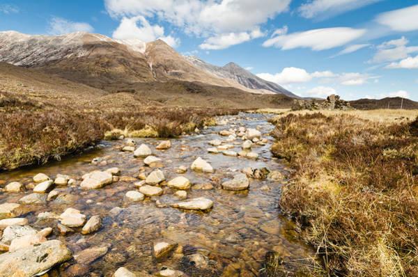 Beinn Eighe Photograph - Mountain Stream From Beinn Eighe by David Head