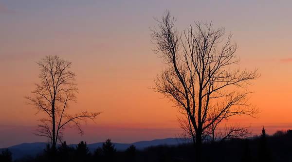 Mountain Sunset 1 Art Print